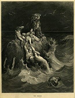 Il Diluvio nel Mondo del Mito : i suoi significati 260px-Gustave_Dor%C3%A9_-_The_Holy_Bible_-_Plate_I,_The_Deluge