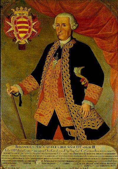 Retrato de Manuel de Guirior.