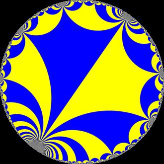Infinite-order square tiling - Image: H2 tiling 44i 4