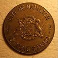 HAMILTON ONTARIO, 1946 -TOKEN b - Flickr - woody1778a.jpg