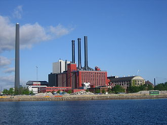 H. C. Ørsted Power Station - Image: HC Ørstedsværket