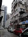 HK 中環 Central 蘇豪 SoHo 士丹頓街 Staunton Street rain February 2020 SS2 01.jpg