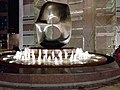 HK 中環 Central night 晚上 Exchange Square 交易廣場 sculture 8 Eight water fountain Oct 2018 SSG 06.jpg