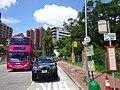 HK 屯門 Tuen Mun 青麟路 Tsing Lun Road bus n minibus stop sgins July 2016 DSC.jpg