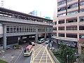 HK 觀塘 Kwun Tong 開源道 Hoi Yuen Road MTR exit footbridge view October 2018 SSG 02.jpg