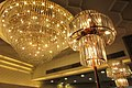 HK Sai Ying Pun 明星海鮮酒家 Star Seafood Restaurant Chandeliers ceiling three lamps July 2017 IX1.jpg