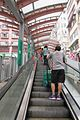 HK Sai Ying Pun 3rd Third Street Centre Street escalators visitors June 2017 IX1.jpg
