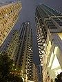 HK Wan Chai night Lee Tung The Avenue facades Dec-2015 DSC.JPG