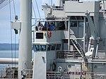 HMAS Tobruk Departs Fort Hill Wharf January 2012 (6741836607).jpg