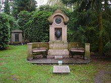Grabmal von Hans von Bülow auf dem Ohlsdorfer Friedhof in Hamburg (Quelle: Wikimedia)