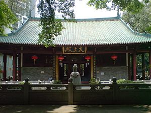 Hoi Tong Monastery - The Hall of the Heavenly Kings