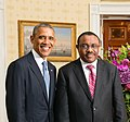 Hailemariam Desalegn with Obamas 2014 (cropped).jpg