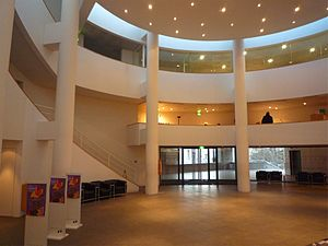 Museum of Grenoble - Lobby of the museum