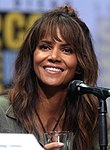 Photo of Halle Berry at the 2017 San Diego Comic-Con International.