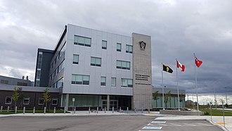 Halton Regional Police Service - Halton Regional Police Service Headquarters opened in September 2018