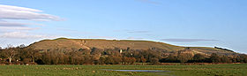 photo of Hambledon Hill seen from west