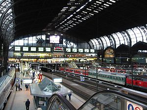 German railway station categories - Hamburg Hbf (category 1)