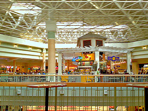 Hamilton Mall - The food court seen in June 2010