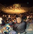 Hamlet at Curium Amphitheatre 2 - Shakespeare's Globe & Pharos Arts Foundation - July 2014.JPG
