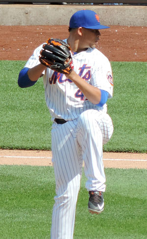 Hansel Robles - Robles with the Mets in 2015