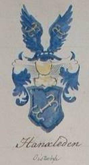 Hanxleden - Von Hanxleden coat of arms