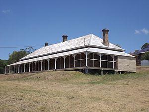 Veranda - Harlaxton House, Toowoomba, Queensland, 2014