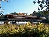Harpersfield (Ashtabula County, Ohio) Covered Bridge 1.jpg