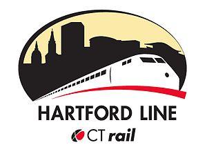 Hartford Line - Image: Hartford Line commuter rail logo