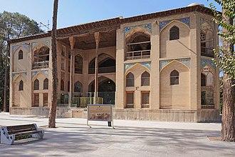Hasht Behesht - Image: Hasht Behesht Palace, Isfahan 02