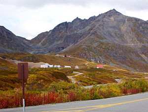 Gold mining in Alaska - Independence Mine in Hatcher Pass is now a State Historic Park