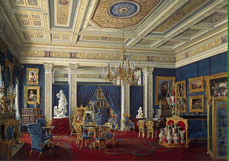 File:Hau Edward Petrovich - Blue Drawing-Room in the Mariinsky Palace.jpeg