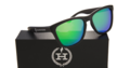 Hawkers sunglasses green over white.png