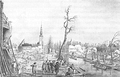 Heike Kamerlingh Onnes - 28 - Visit of commissioners to the ruins at the Steenschuur, Leiden, the day after the explosion of the gunpowder on January 12, 1807.png