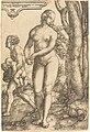 Heinrich Aldegrever, Rhea Silvia, NGA 3456.jpg