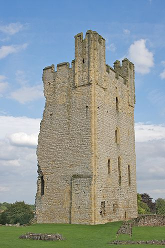 Helmsley Castle - The remains of the East Tower