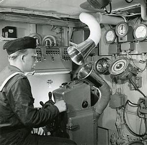Helmsman onboard Göta Lejon.jpg