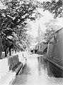 Helsingør. Bomen langs de slotgracht met op de achtergrond de toegangspoort en e, Bestanddeelnr 189-0585.jpg