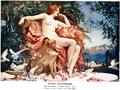 Henrietta Rae (1859-1928) - Venus Enthroned (1902), vintage colour plate.png