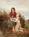 Henry Campotosto Geschwister mit Vogelnest 1863.jpg