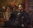 Portret van James Ensor