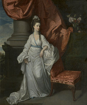 Henry Walton (English painter) - Lady Grant, Wife of Sir James Grant by Henry Walton, Yale Center for British Art, 1775