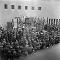 Herdenking van de eerste verjaardag van Israels onafhankelijkheid in de Jessurun, Bestanddeelnr 255-0369.jpg