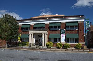 Hickory Municipal Building - Hickory Municipal Building, September 2012