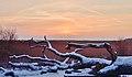 Hiems vespere in septentrionalem plagam Neva Bay.jpg