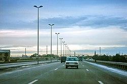 Highway in Azerbaijan.JPG