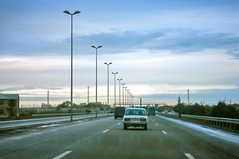 File:Highway in Azerbaijan.JPG