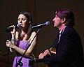 Hillary Lindsey and Brett James, ASCAP concert, 2011.jpg