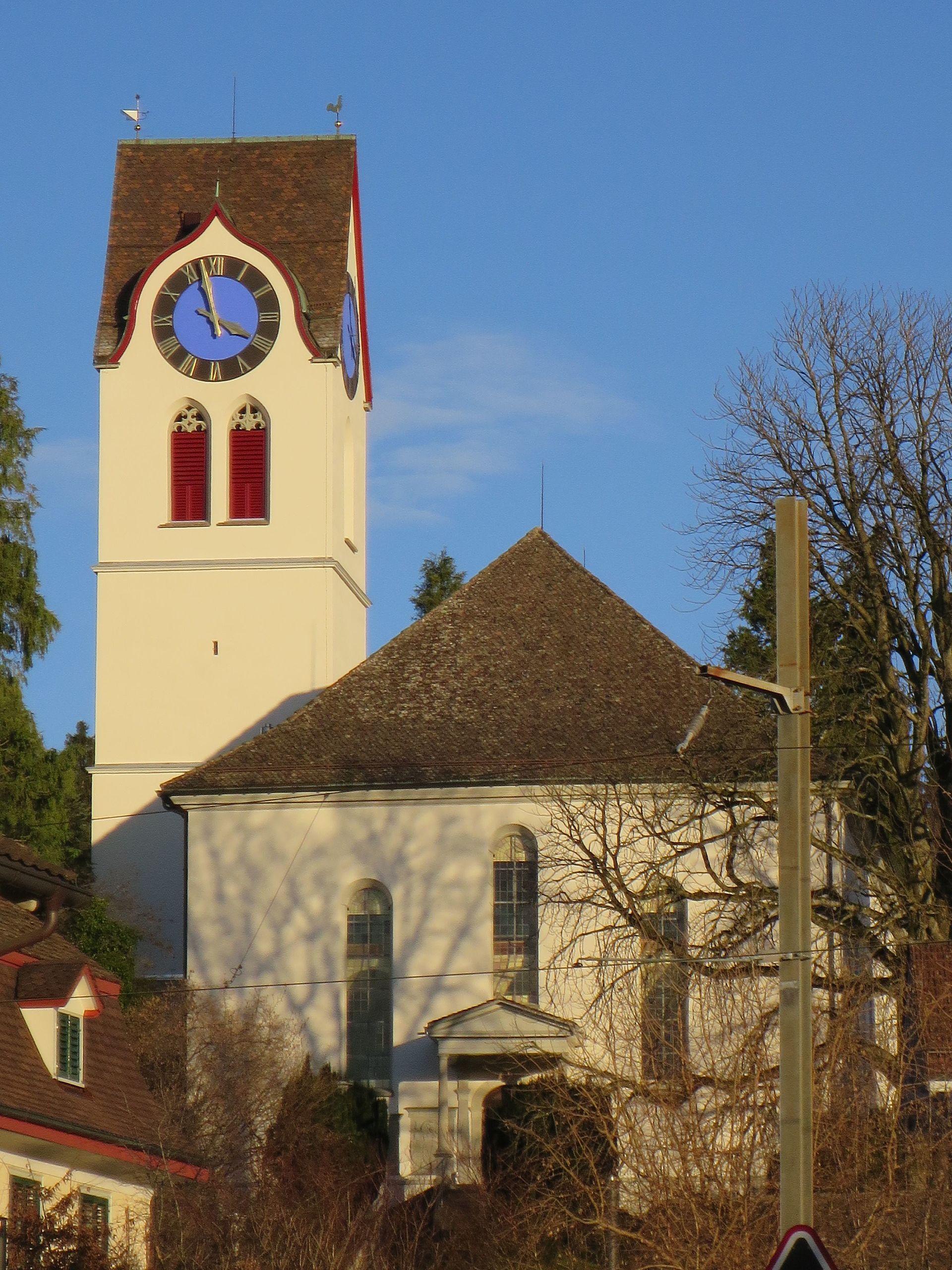 Reformierte Kirche Hinwil – Wikipedia