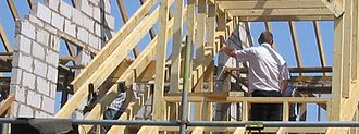 Hip roof - Hip roofing construction
