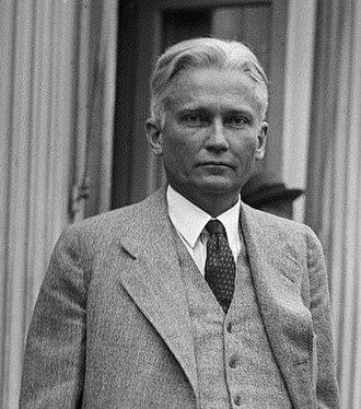 Blaine Act - Senator Hiram Bingham
